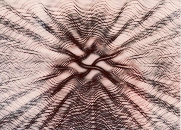 3D.3 - detail| silkscreen on perspex | 100x107x38cm