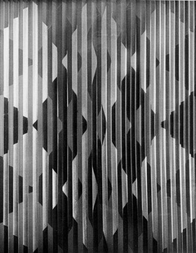 AP3 | brushed aluminium and perspex | 122x122x10cm