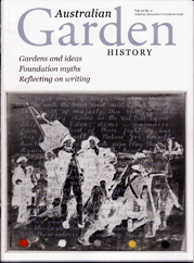 Australian Garden History