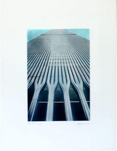 NY | 76x57cm | silkscreen on Fabriano paper