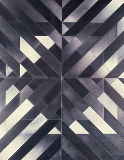 A3 | brushed aluminium | edition 5 | private collection Rio de Janeiro | 90x90cm