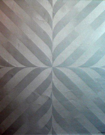 Silkscreen 3 Lotus | Letra color paper | 46x46cm