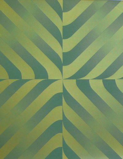 Silkscreen 4 | Letra color paper | 46x46cm