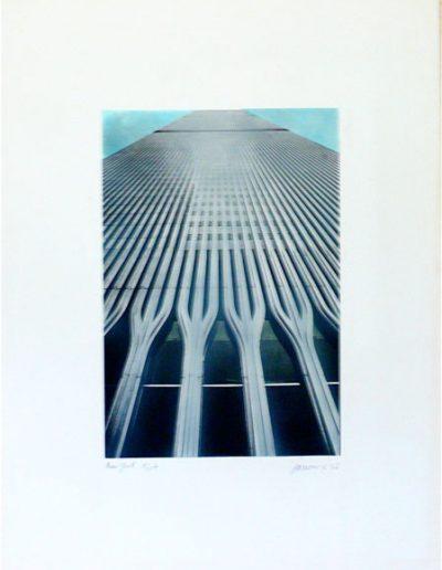 NY   76x57cm   silkscreen on Fabriano paper